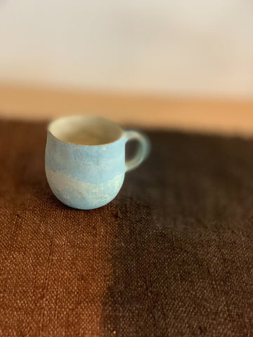 Duck Egg Blue Rounded Mug from Kyoto