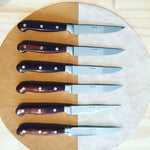 Rosewood Steak Knives