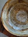 Timna Taylor Medium Flat Salad Bowl with Kintsugi