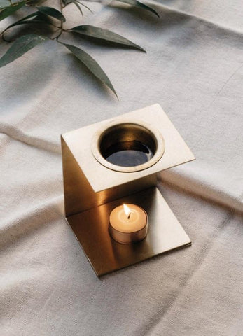 Addition Studio Brass Essential Oil Burner/Diffuser