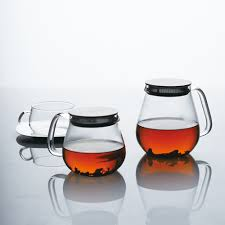 One Touch Glass Teapot -  720ml