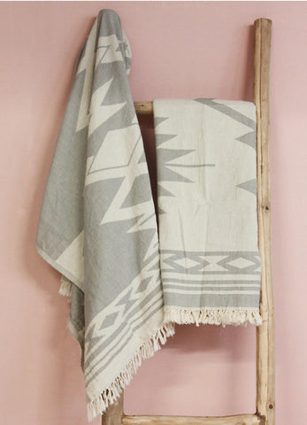 """Aztec"" Turkish Towel"