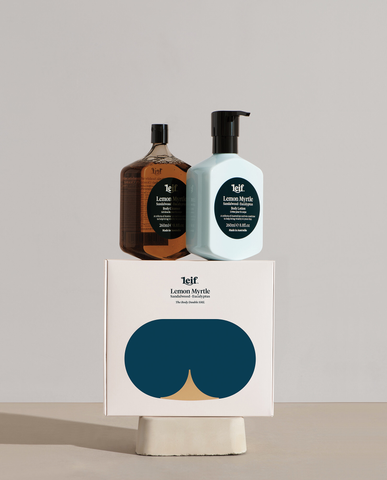 "Leif ""The Body Double"" Lemon Myrtle Gift Set"
