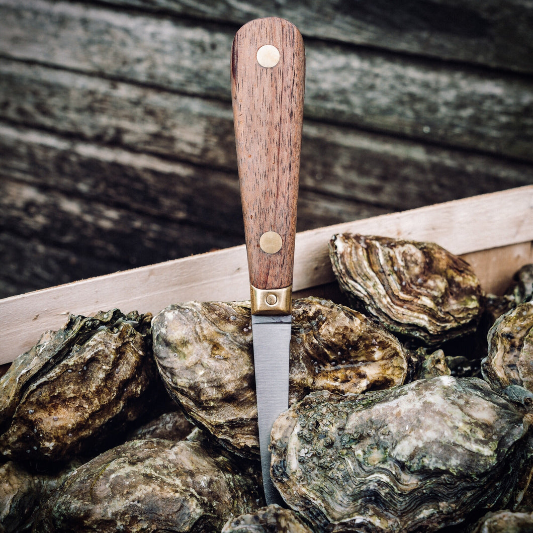 Wooden Handled Oyster Knife - Richard Haward's Oysters
