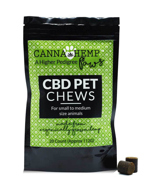 CHInfused Paws - Pet Chews 44mg 20ct
