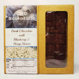 CBD Scientific -  Dark Chocolate with Blueberry & Hemp Hearts 100mg