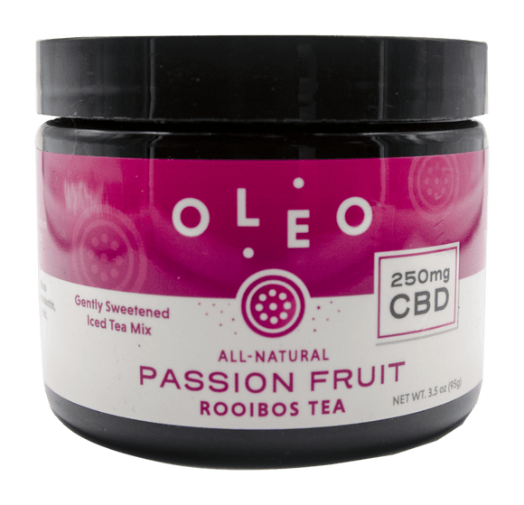 Oleo - Rooibos Tea Mix Jar - Passion Fruit - (Caffeine Free)