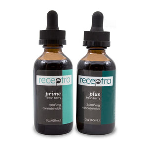 Receptra Health & Wellness Tinctures (Prime/Plus)