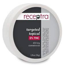 Receptra - Zero THC Targeted Topical CBD