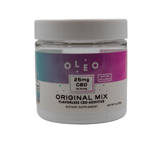Oleo - Original Mix - Flavorless - 1 oz Jar