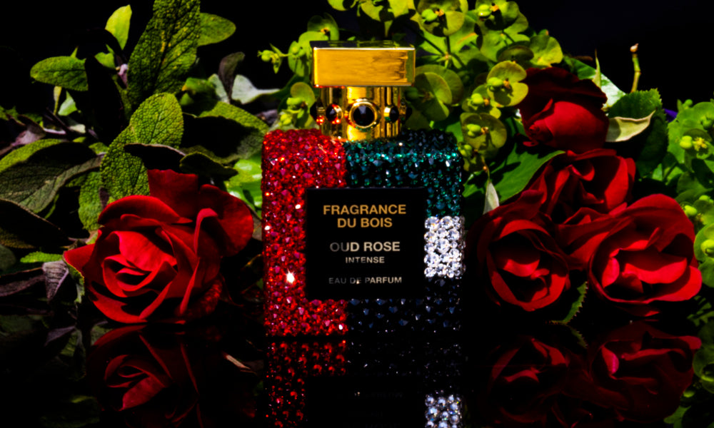 OUD ROSE INTENSE SWAROVSKI LIMITED EDITION BOTTLE - Fragrance Du Bois