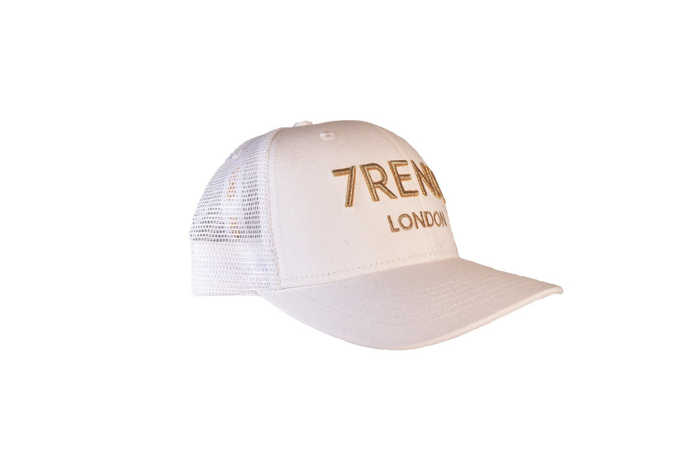 White Trucker With Gold 7RENDI - 7rendi