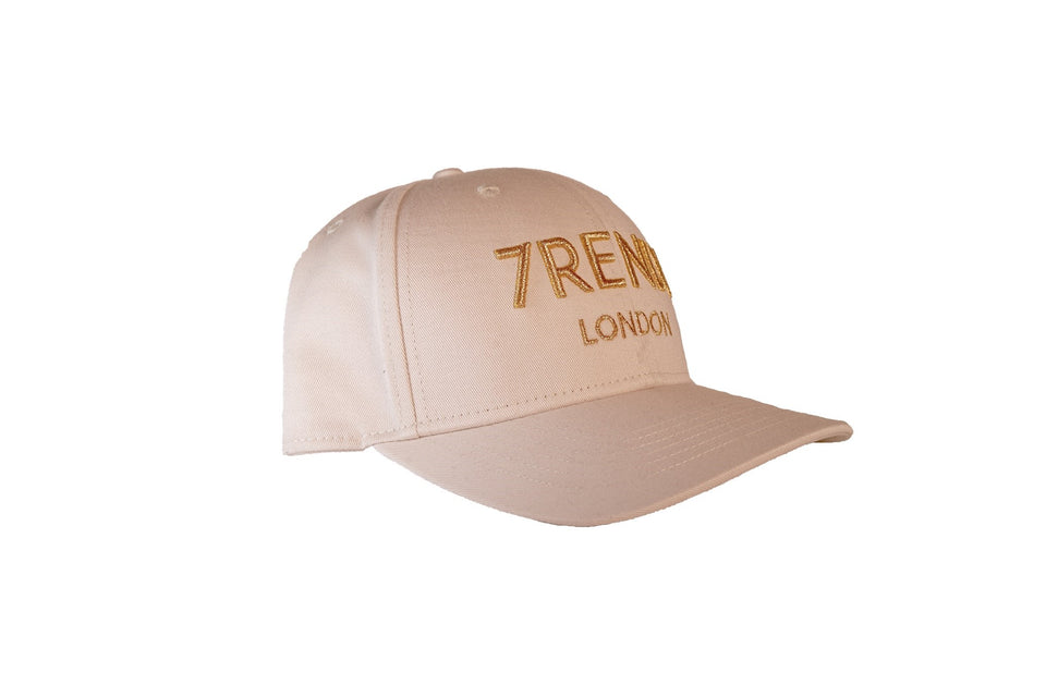 Golden Sand Baseball Cap With Rose Gold 7RENDI - 7rendi