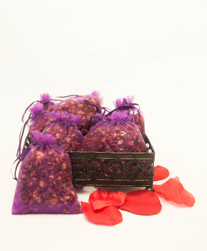 Rose Infused Fragrance Pouches (2)