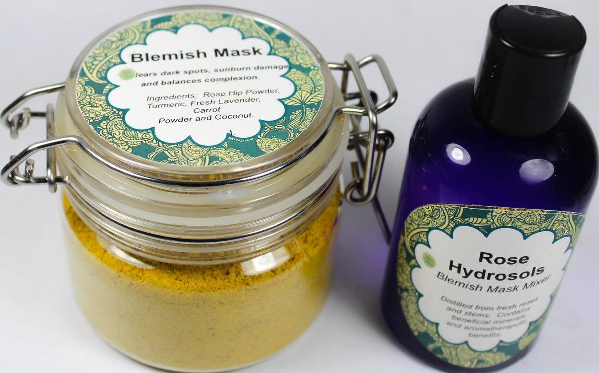 Blemish Mask and Rose Hydrosols