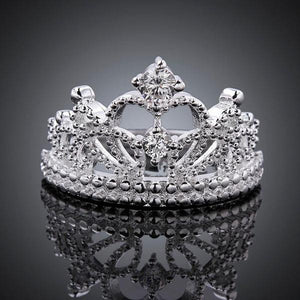 The Queen Cut Tiara Ring