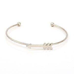 Cupids Arrow & Heart Bracelet Set