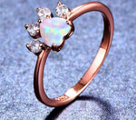 *NEW* Opal Paw Ring
