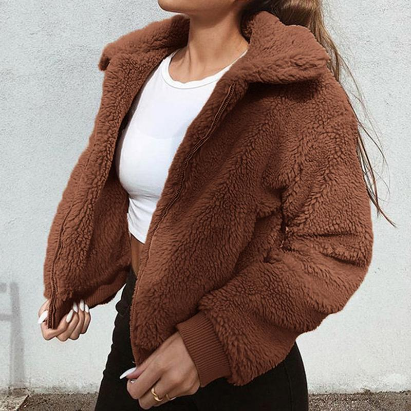 Teddy Bear Bomber Jacket