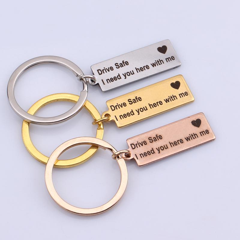 """Drive Safe I Need You Here With Me"" Love Charm™"