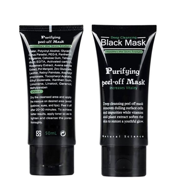 Charcoal Blackhead Removal Mask