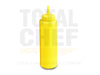 BOTE PLASTICO DESPACHADOR AMARILLO 340ML