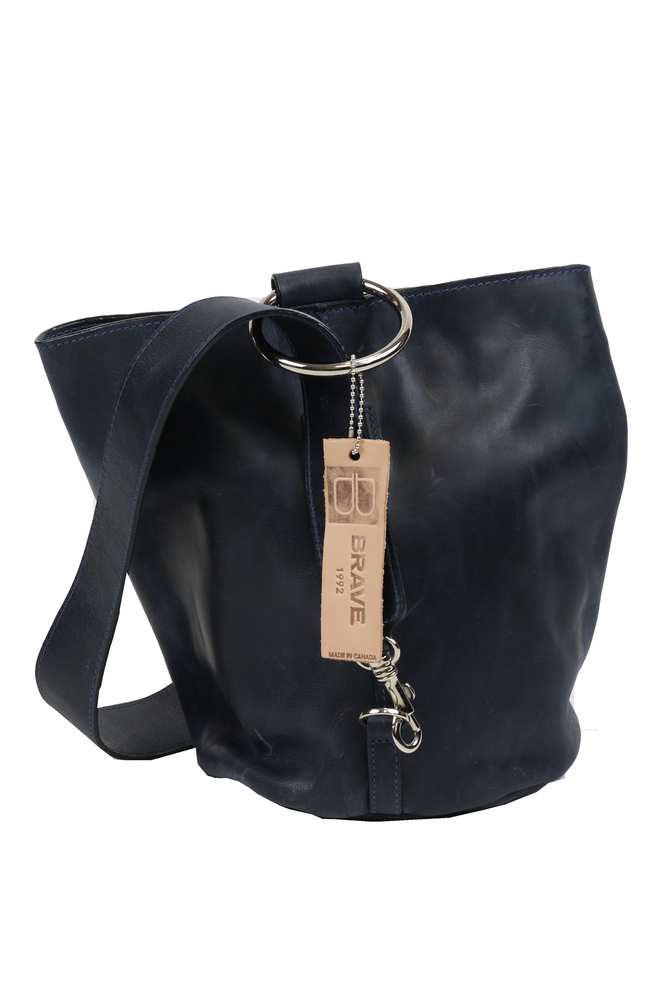 BRAVE LEATHER HANDBAG