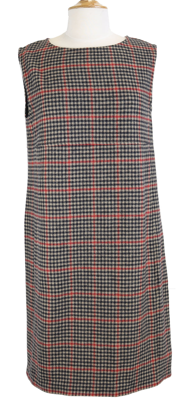 CIRCOLO PLAID DRESS SIZE 14 | EU 44