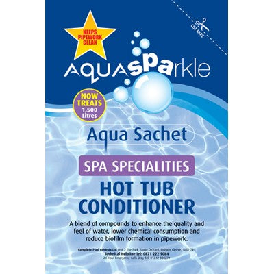 AquaSparkle Aqua Sachet Hot Tub Conditioner