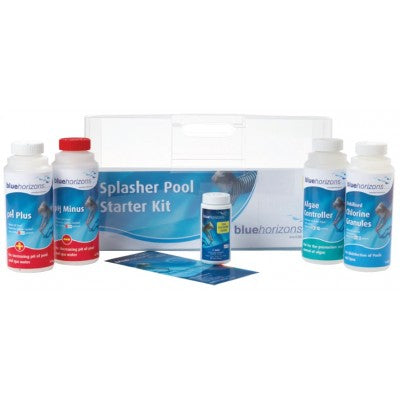 BlueHorizons Splasher Pool Starter Kit - Chlorine