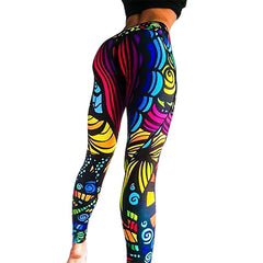 leggings coloré sport yoga fitness