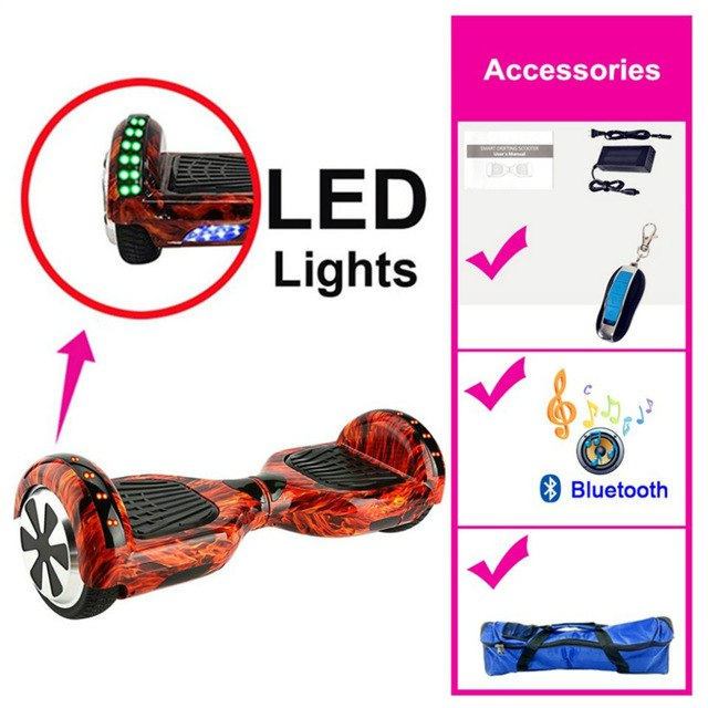 Hoverboard LED Bluetooth