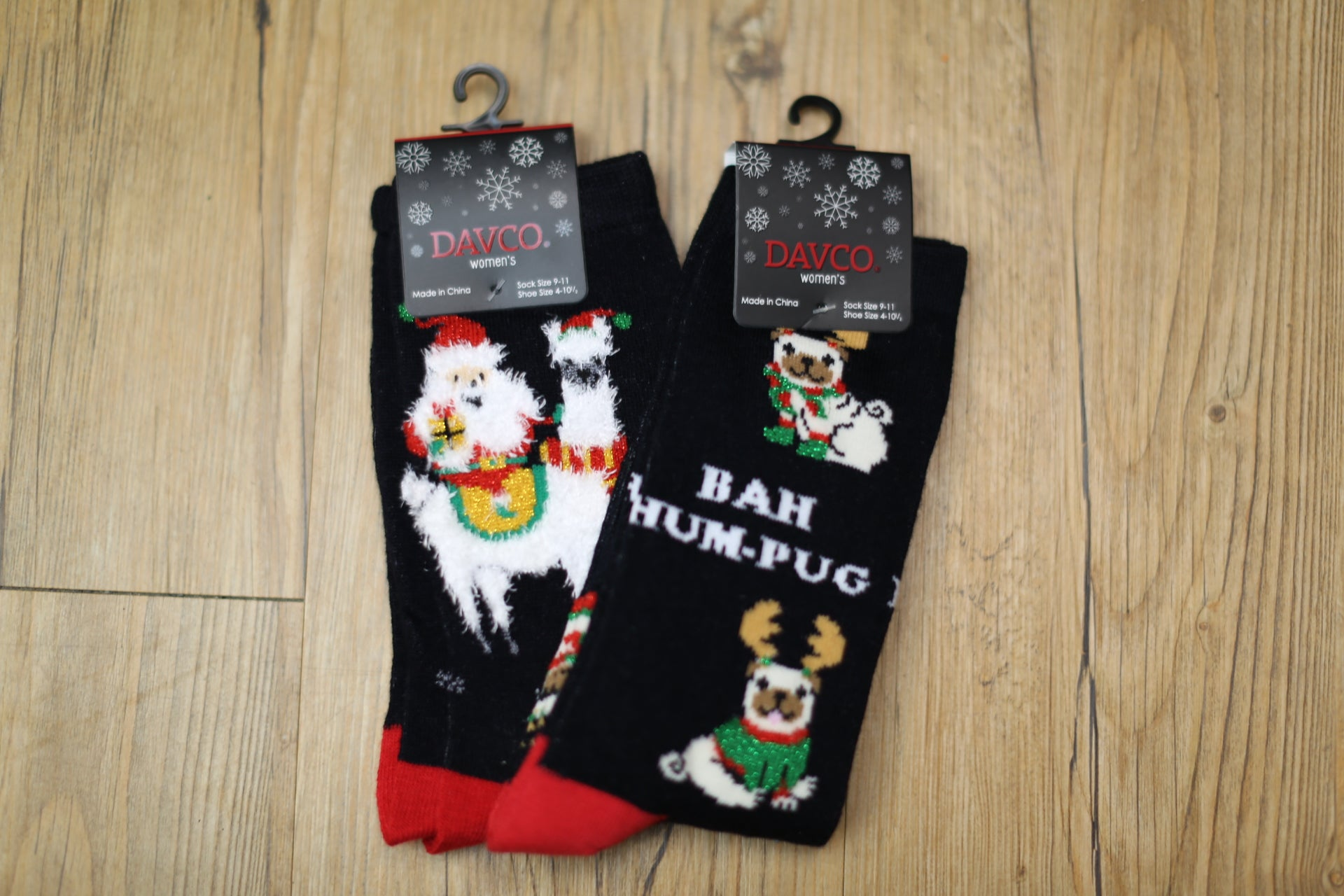 Holiday Crew Socks