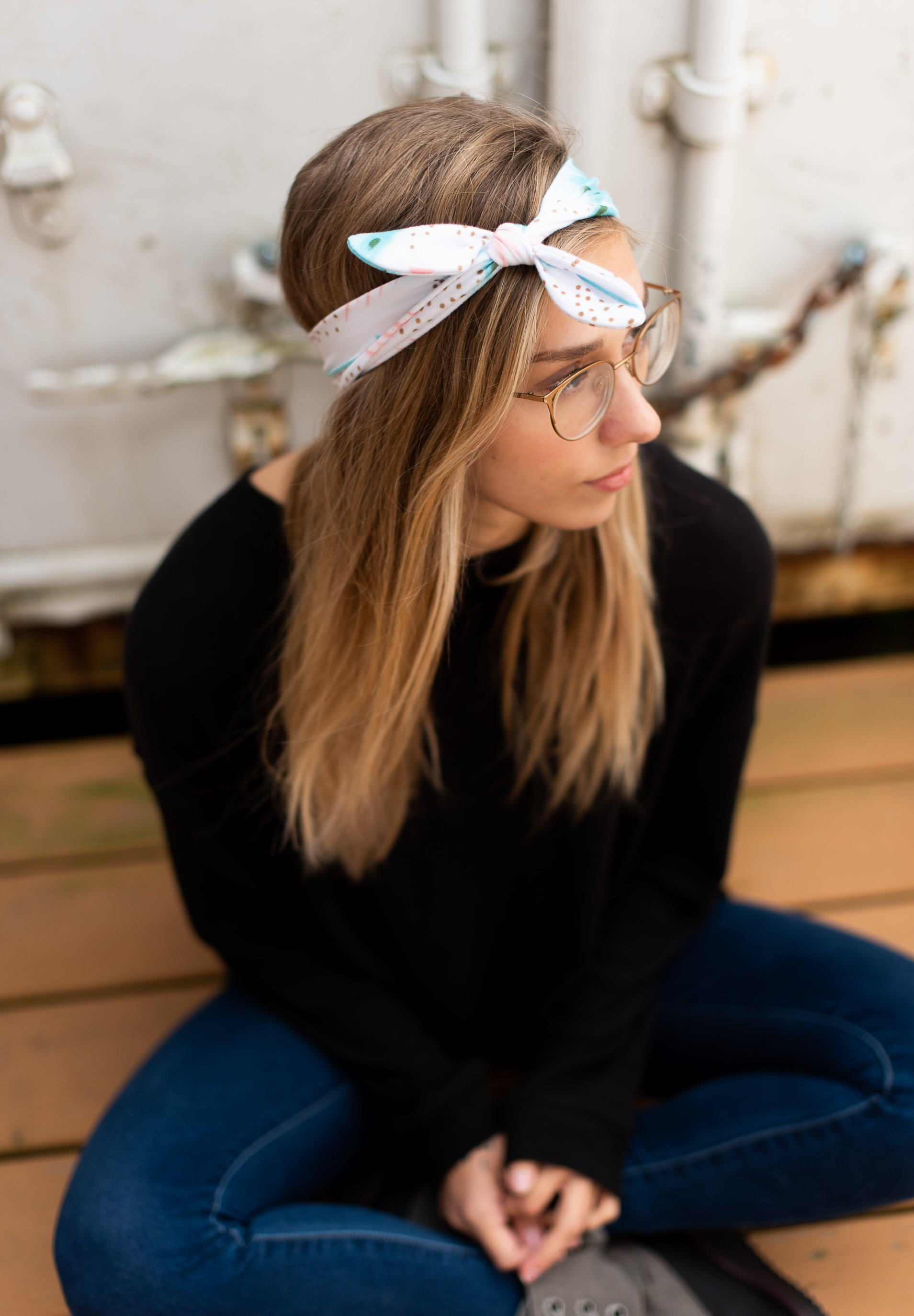 Patterned Knotted Headbands