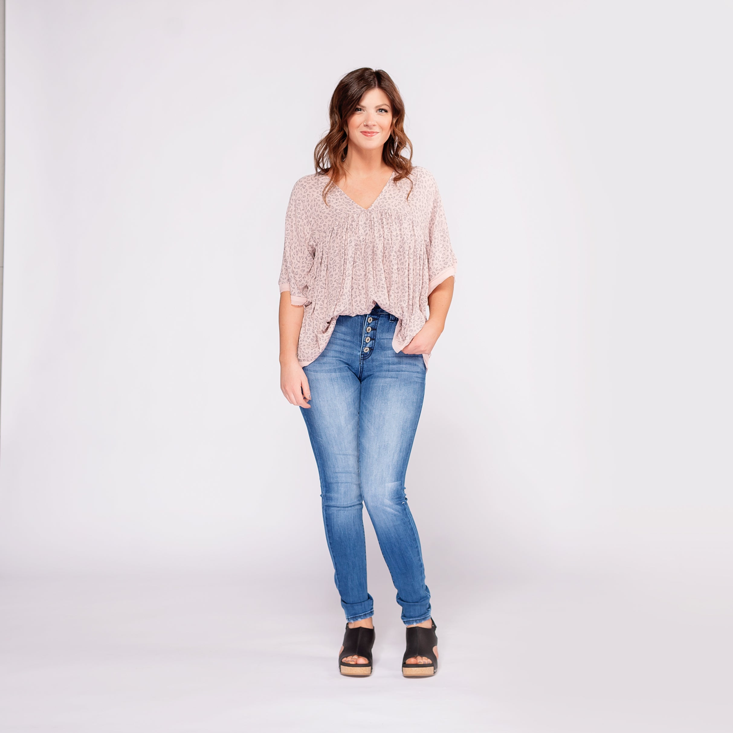 Kancan High Rise Curvy Fit Jeans *Final Sale*