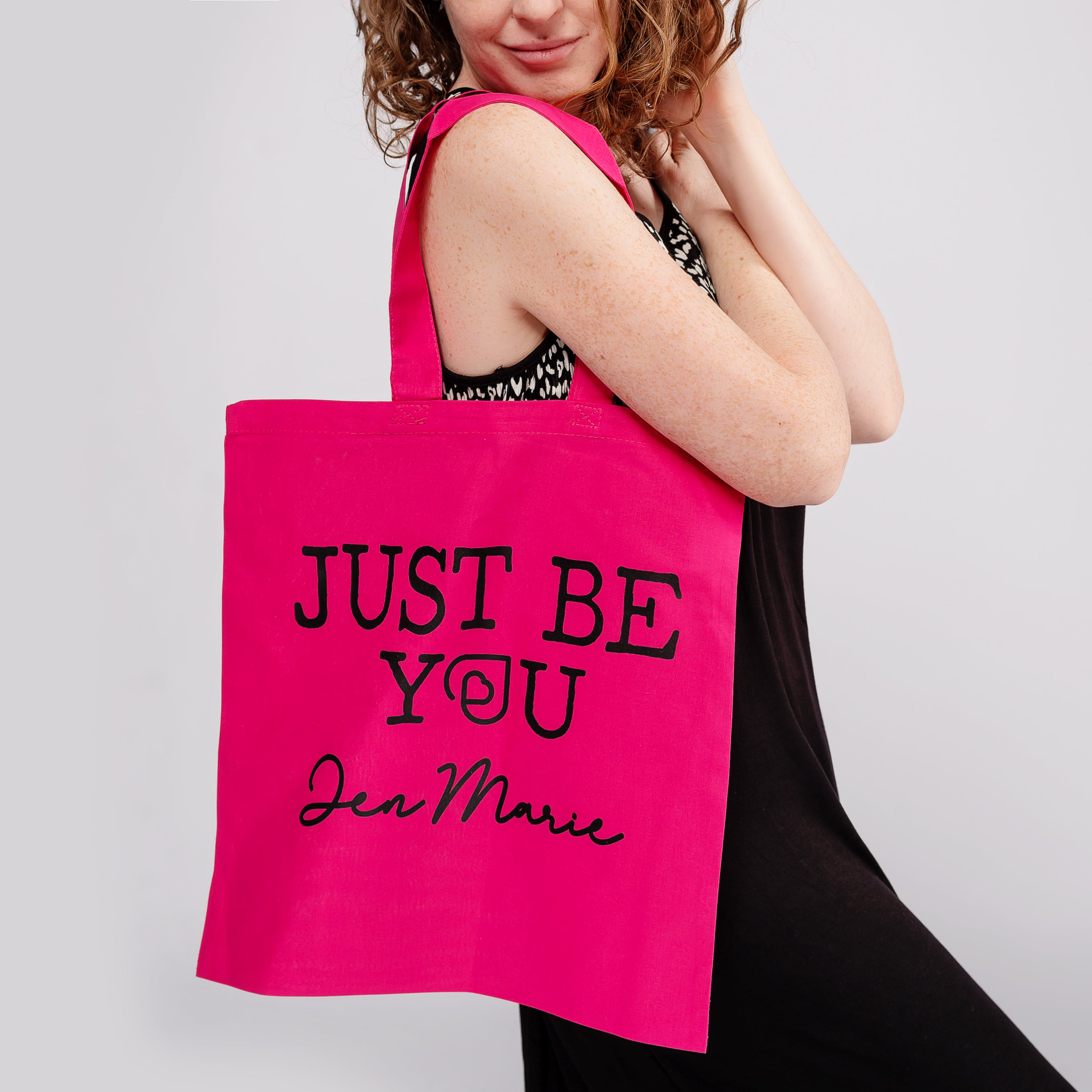 Just Be You Tote Bag by Jen Marie