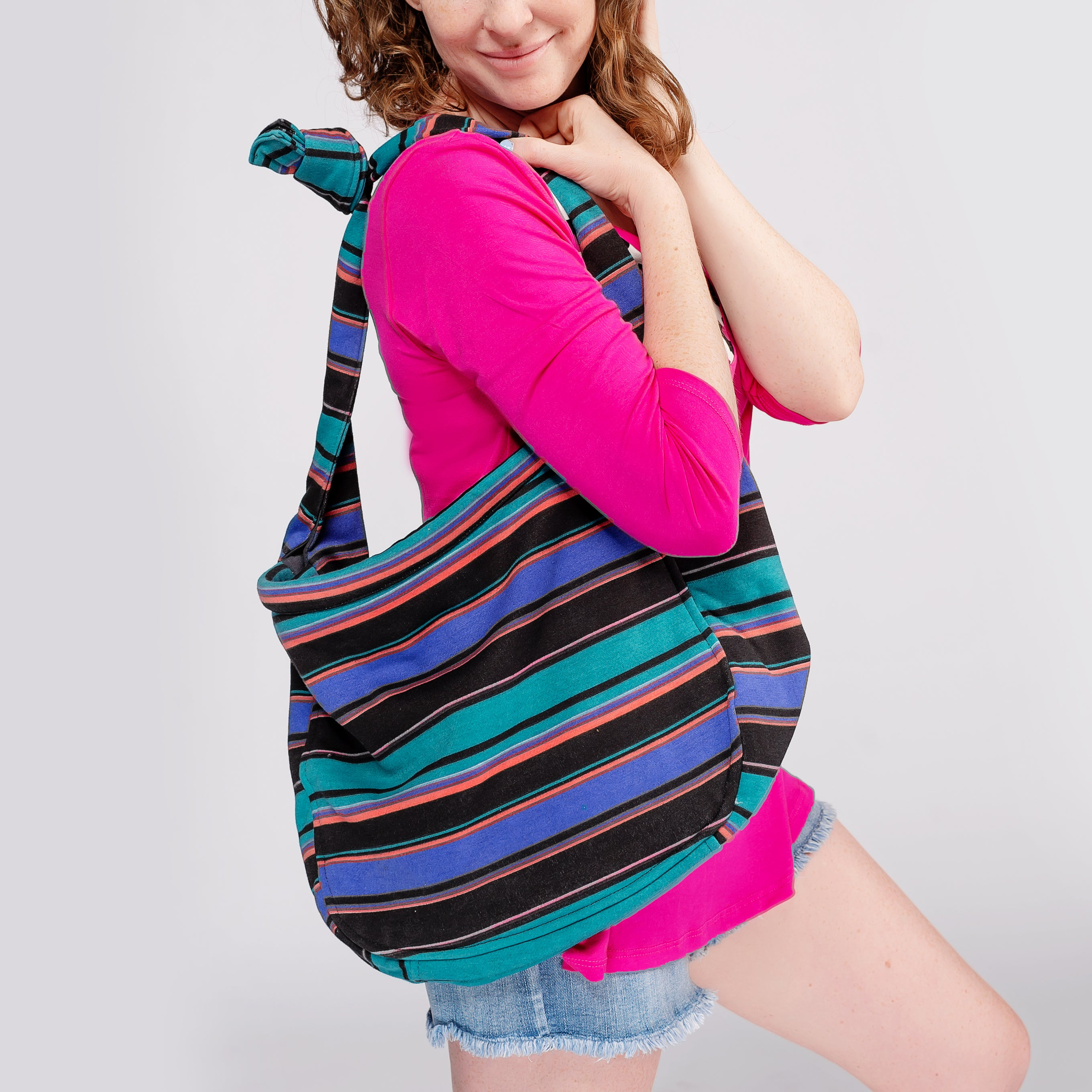Summer Fun Stripe Tote