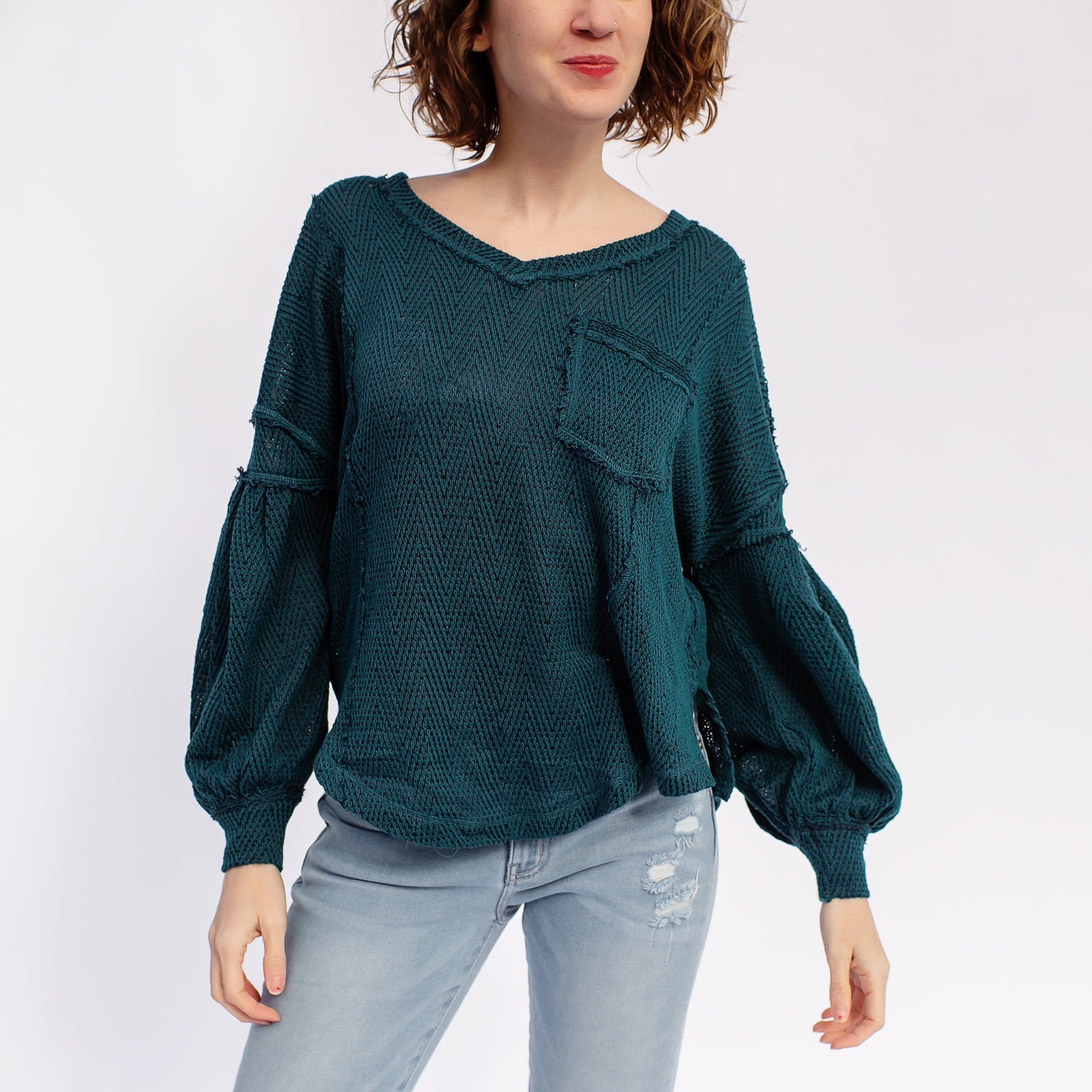 Free People Fresh and New Hacci Top