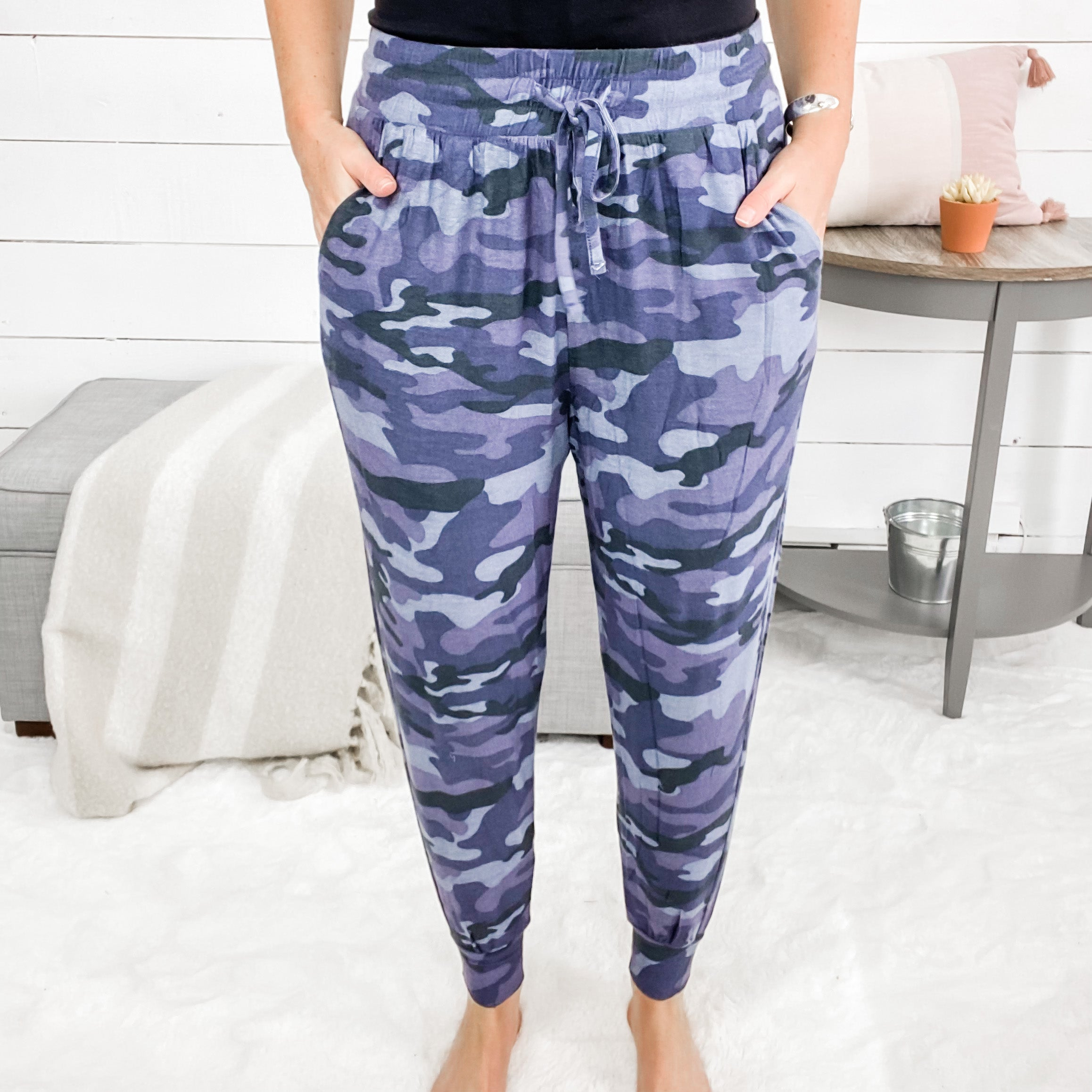 Can't See Me Camo Joggers