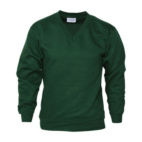 Front - Absolute Apparel Mens V Neck Sweat