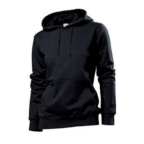 Front - Stedman Womens/Ladies Hooded Sweat