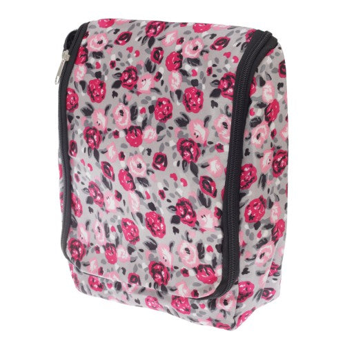 Front - Womens/Ladies Patterned Travel Toiletries Bag