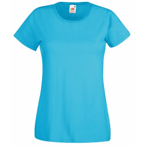 Front - Fruit Of The Loom Ladies/Womens Lady-Fit Valueweight Short Sleeve T-Shirt