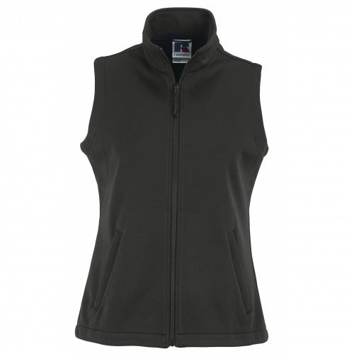 Front - Russell Ladies/Womens Smart Softshell Gilet Jacket