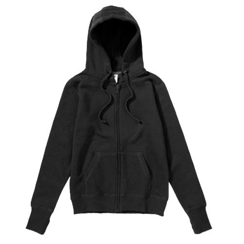 Front - SG Mens Full Zip Urban Hooded Sweatshirt / Hoodie