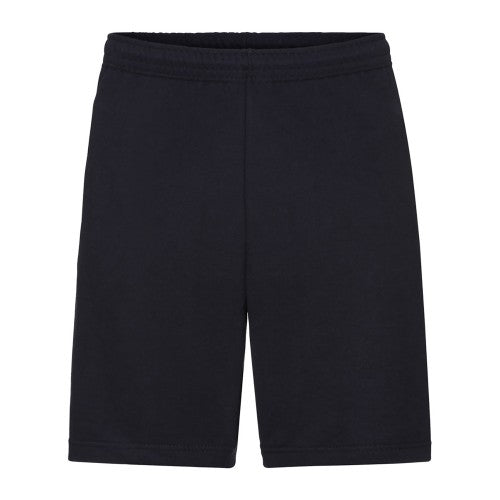Front - Fruit Of The Loom Mens Lightweight Casual Fleece Shorts (240 GSM)