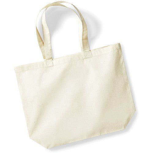 Front - Westford Mill Maxi Tote/Shopper Bag For Life