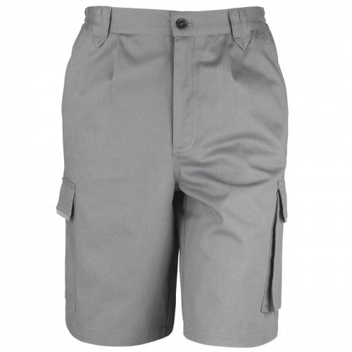 Front - Result Unisex Work-Guard Action Shorts / Workwear