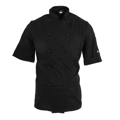 Front - Dennys AFD Adults Unisex Thermocool Chefs Jacket