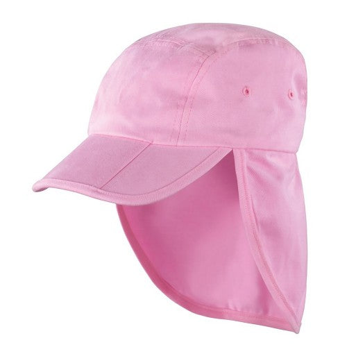 Front - Result Headwear Kids/Childrens Unisex Folding Legionnaire Hat / Cap (Pack of 2)